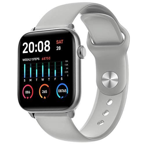 N-B Relojes inteligentes para hombres y mujeres, IP68 resistente al agua, modo deportivo, monitoreo del ritmo cardíaco, teléfonos de reloj Bluetooth