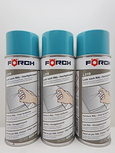 Spray de pintura azul turquesa RAL 5018, bote de 400 ml (3)