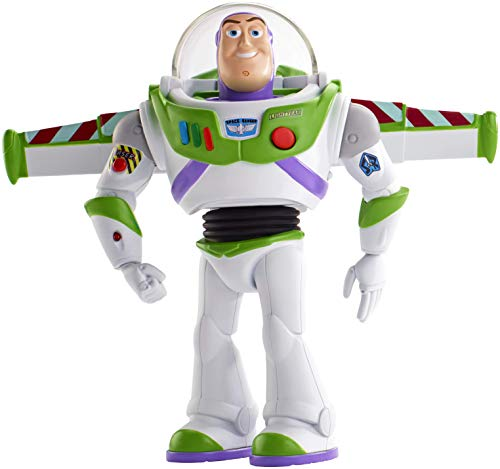 Mattel Disney Toy Story 4-Buzz Lightyear Superguardián Anda