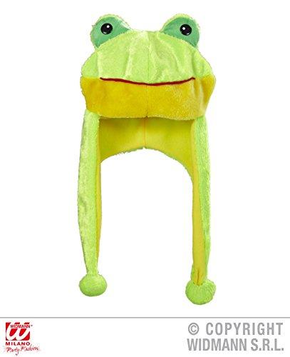 Widmann wid0199 F ? Bonnet Grenouille, jaune, taille unique