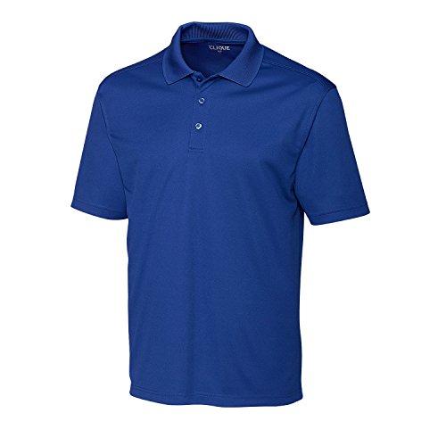 Clique Herren Poloshirt Spin Pique, Herren, Polo, Spin Pique Polo, Tour Blue (blau), 5X-Large