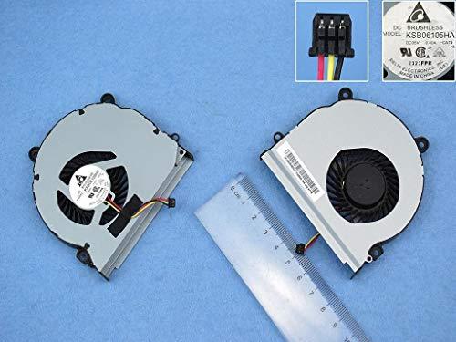 Kompatibel für Samsung NP350V5C, NP350E7C, NP355V5C NP355E5C Lüfter Kühler Fan Cooler