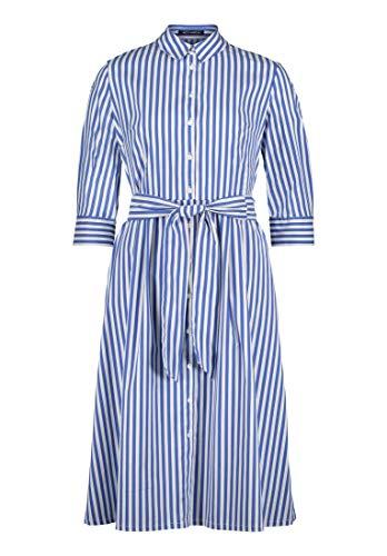Betty Barclay Hemdblusenkleid Blau/Weiß, 44