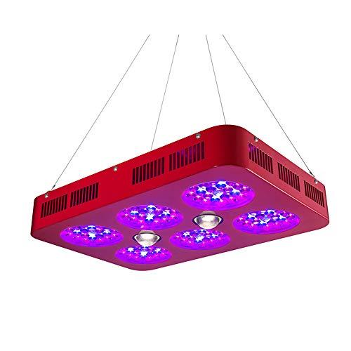 700W COB LED-Zuchtlampen, Pflanzenzuchtleuchten mit vollem Spektrum für Zimmerpflanzen, Gemüse- und Blumengewächshauszelte