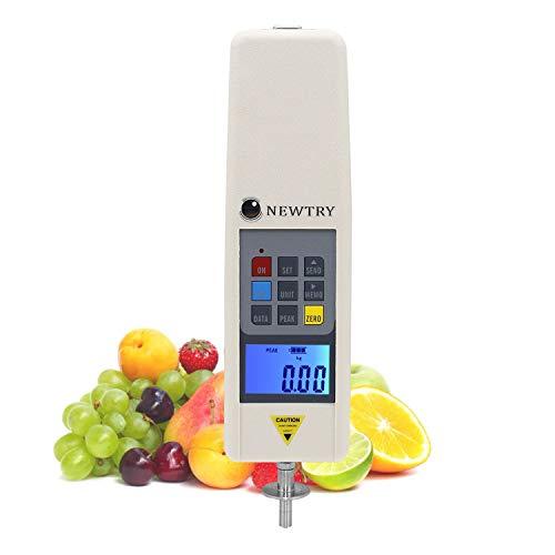 Newtry GY-4 - Medidor digital de dureza de frutas para determinar el nivel de madurez de la fruta