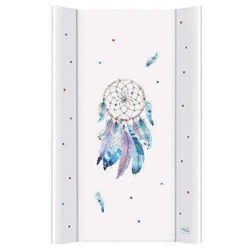 Wickelauflage Wickelunterlage Wickeltischauflage 2 Keil 80x50 cm, 70x50 cm Abwaschbar für Mädchen und Junge - Sueno 80x50