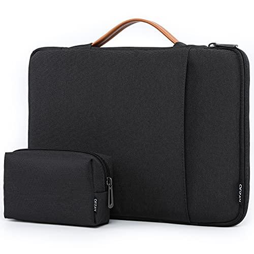 HYZUO 13-13,5 Pollici Laptop Custodia Borsa Protettiva Sleeve PC Portatile Cover Compatibile con 13,5 Surface Laptop/Vecchio MacBook Air 13/MacBook Pro 13 2012-2015/HP Spectre x360, Grigio scuro