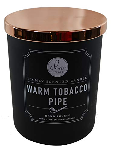 DW Home Warm Tobacco Pipe Richly Scented Candle Two Wick - 15.01 oz.