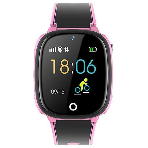 iKids - Reloj inteligente para niño, color rosa
