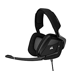 CORSAIR VOID PRO RGB USB Gaming Headset with DOLBY HEADPHONE 7.1 Surround Sound for PC - Carbon