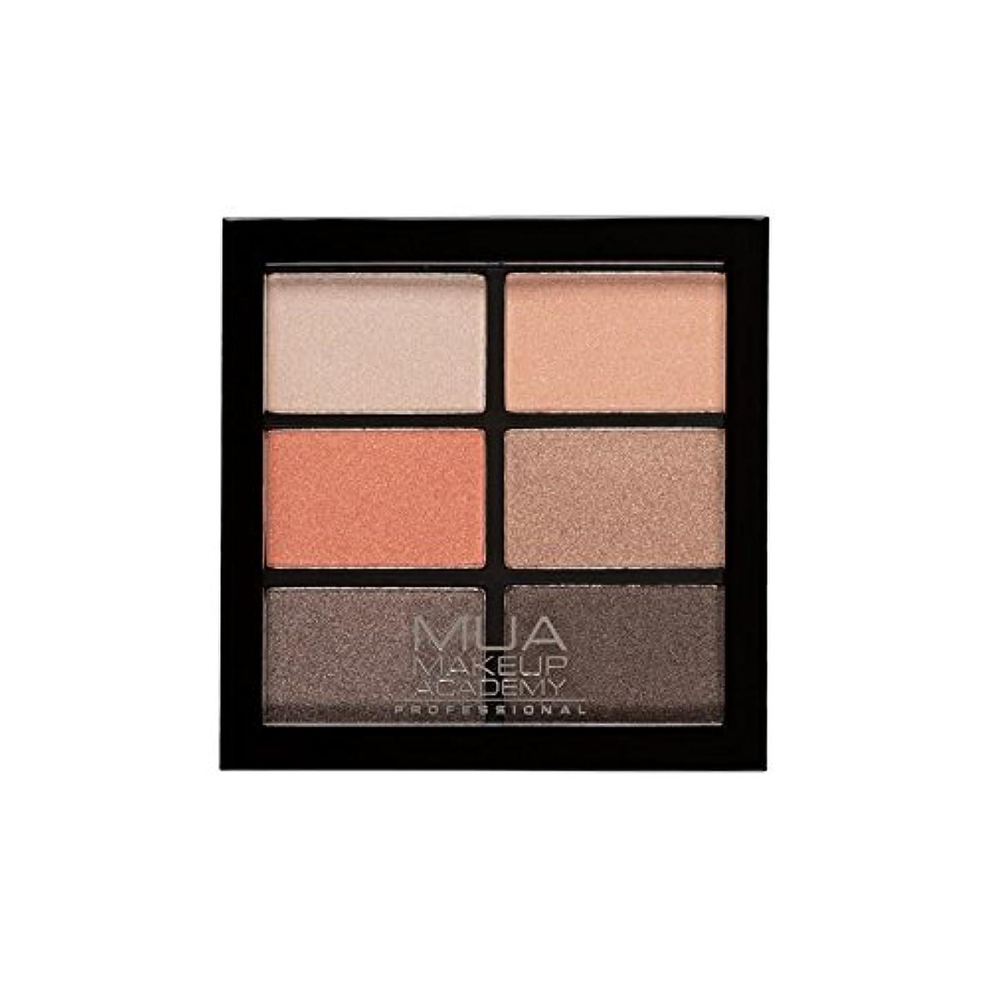 ポジション怒っているお願いしますMUA Professional 6 Shade Palette Coral Delights (Pack of 6) - プロ6日陰パレットサンゴ料理 x6 [並行輸入品]