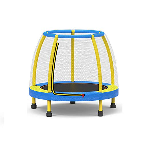 Trampoline for Kids, Trampoline for Kids with Enclosure Net and Safety Pad, Duty Frame Round Trampoline with Built-in Zipper, for Indoor Outdoor