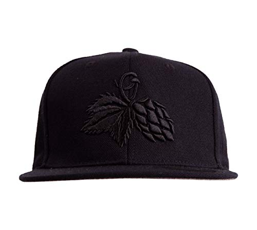 the casual monks Snapback Cap DOLDE Unisex & verstellbare Größen (Schwarz)