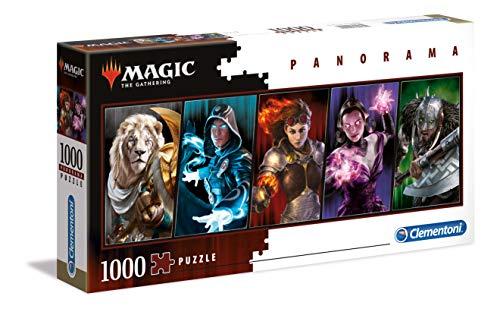 Clementoni 39565 Magic The Gathering-1000pcs Panorama Puzzle