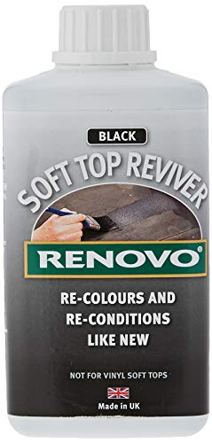 Renovo RHRBLA5001115 International Soft Top Reviver, Black, 500 ml, 500ml