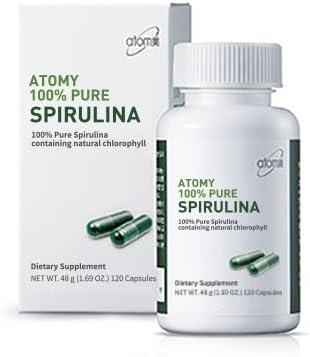 Atomy Pure Spirulina Rapid rise Gorgeous Capsules 120
