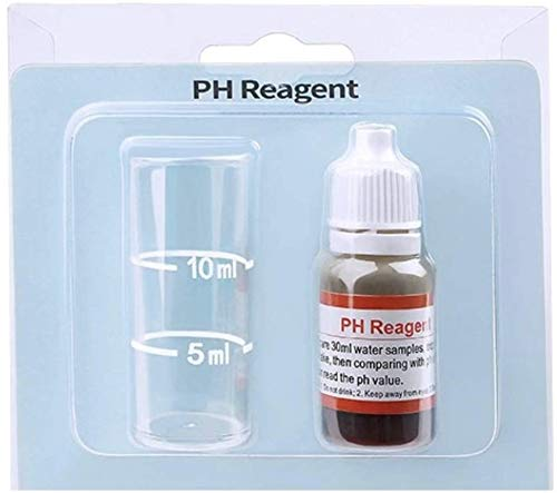Eco Home Tester di PH | PH metro | Misuratore di pH preciso per piscina Spa Jacuzzi acquario | Test di acidità dell'acqua | tester di pH e acidità semplice da usare