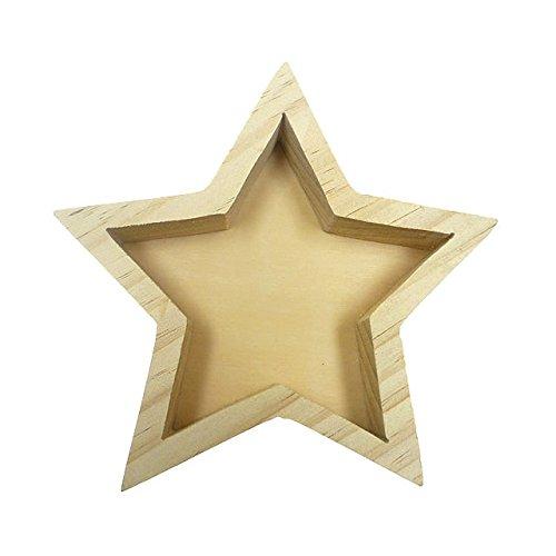 muymucho 木製オブジェ[WOOD STAR1] 星 スター