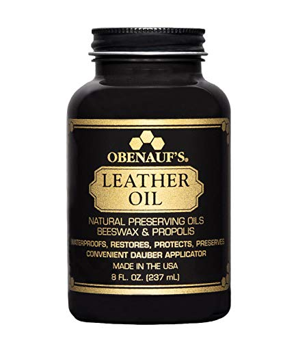 Obenauf's Leather Oil 8 oz. – Restores Dry Leather