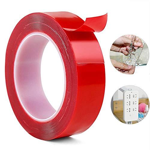 Gel plakband, wasbaar Nano Traceless duidelijk plakband Tape Tape voor Huishoudelijke Plakken fotolijst of Office Wall Decor