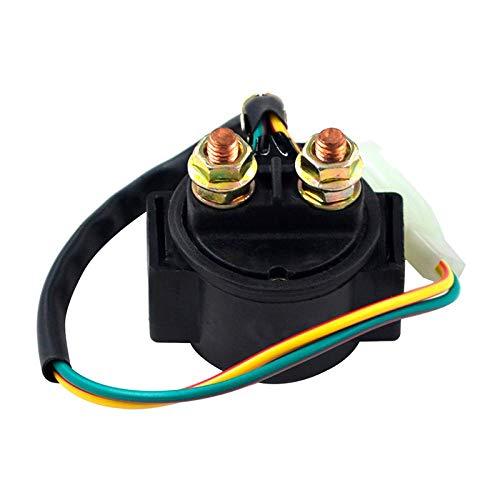 ZMMWDE Elektrischer Schalter für Motorrad-Starterrelais,Für Honda Street CB 550 CB550 F/K 500 Supersport 550 Four 1975-1978