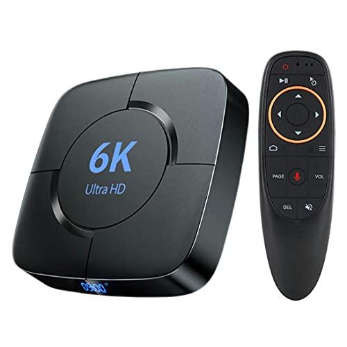 H616 Smart TV Box 6K Set Top Box Reproductor Multimedia Red de Alta definición Decodificador Digital Soporte Tarjeta TF