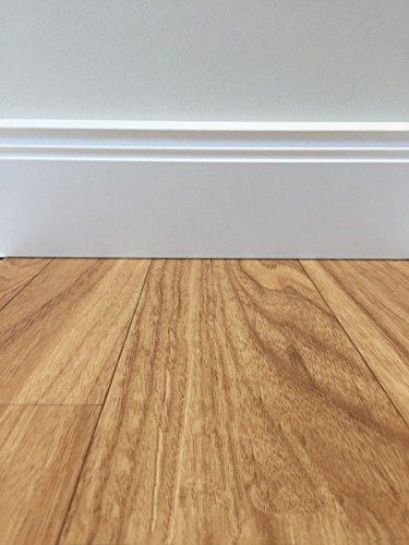 PVC-Boden Classic Holzoptik Hell | Muster | Vinylboden versch. Farben & Längen | Fußbodenheizung geeignet | PVC Platten strapazierfähig & pflegeleicht | robuster, rutschhemmender Fußboden-Belag