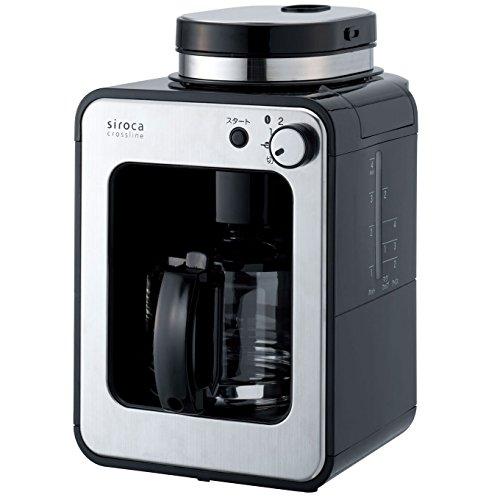 siroca 全自動コーヒーメーカー STC-401[ガラスサーバー/ミル内蔵/ドリップ方式/保温機能]