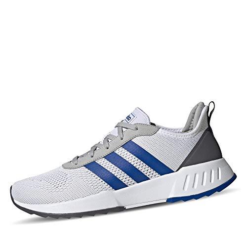 adidas Herren PHOSPHERE Sneaker, Ftwbla/Azurea/Gridos, 44 2/3 EU