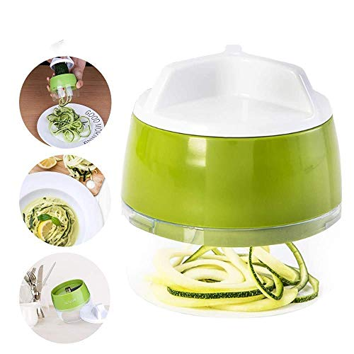 BBGSFDC Trancheuse tranches de légumes et de Fruits râpe Spirale Trancheuse Carotte Concombre Salade courgette Outil