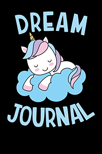 Dream Journal: Sleeping Unicorn, Blank Lined Journal Notebook, 120 Pages, Matte, Softcover, 6x9