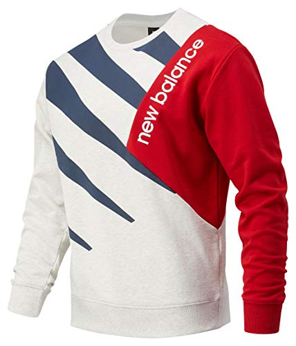 New Balance MT03504 Sudadera, Sweater Blue, S para Hombre