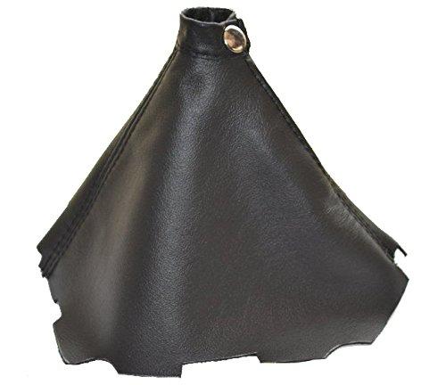 Soufflet de levier Noir cuir italien