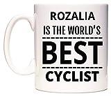 ROZALIA Is The World's BEST Cyclist Taza por WeDoMugs®