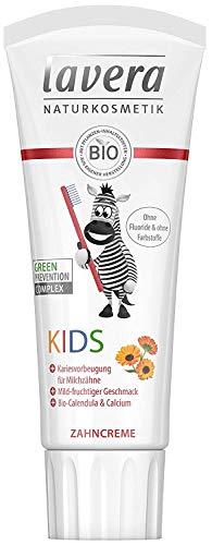 Lavera Zahncreme Kids mit Bio-Calendula & Calcium 3er Vorteilspack (3 x 75ml)