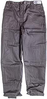 G-Force 4127LRGBK GF 125 Black Large Single Layer Racing Pants