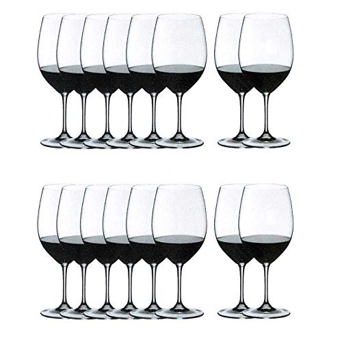 Riedel Vinum Bordeaux Wine Glasses, Set of 16