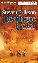 [ DEADHOUSE GATES (MALAZAN BOOK OF THE FALLEN (AUDIO) #02) ] By Erikson, Steven ( Author) 2013 [ Compact Disc ]