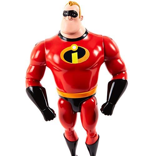 Disney Pixar Muñeco Figura Mr Increible (Mattel GNX78) , color/modelo surtido