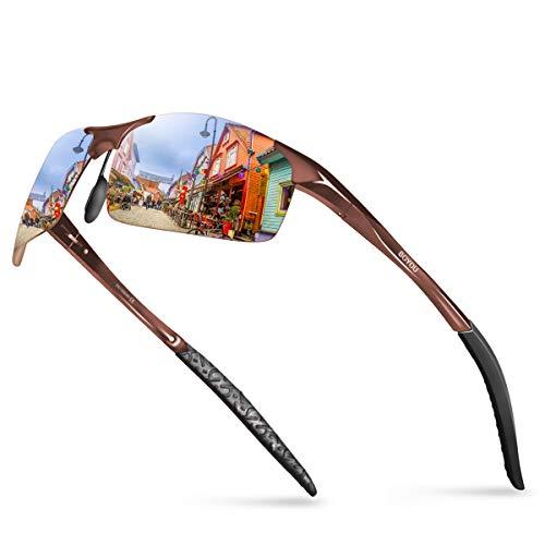 BOYOU gafas de sol polarizadas de los hombres gafas de sol de verano al aire libre gafas de sol para los hombres