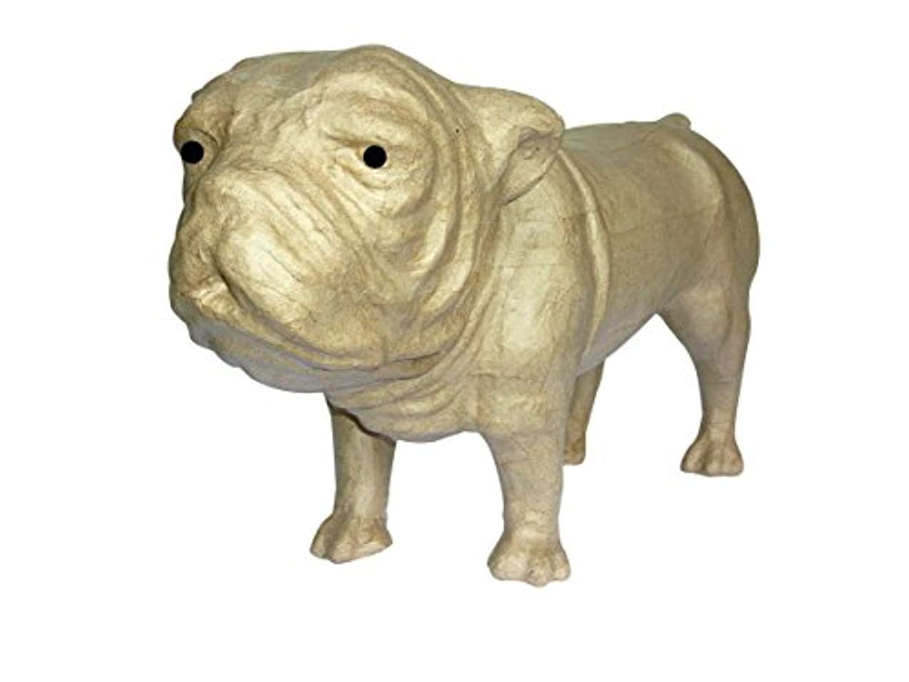 Decopatch Small Mache Bulldog Brown