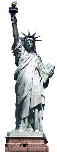 US-Way e.K. Pappaufsteller Freiheitsstatue/Statue of Liberty Standup Figur Kinoaufsteller Pappfigur Cardboard Lebensgroß Life-Size Standup