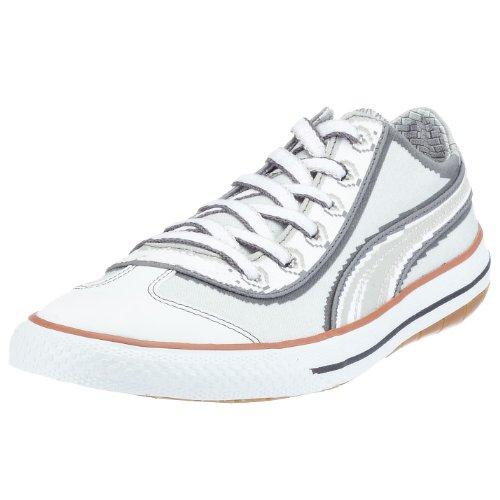Puma 917 SU-PA Jr 350185 02, Unisex - Kinder Sneaker, grau, (gray violet-white 02), EU 35 1/2, (US 4), (UK 3)