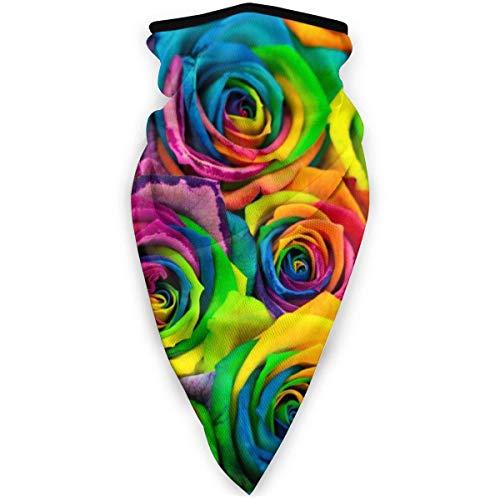 AEMAPE Pañuelo Deportivo Colorido Rosa al Aire Libre a Prueba de Viento Cara pañuelo pasamontañas esquí pañuelo pañuelo Bandana Hombres Mujer