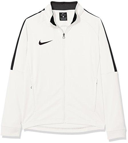 Nike Jungen Y NK Dry ACDMY18 TRK JKT K Sport Jacket, White/Black/(Black), L