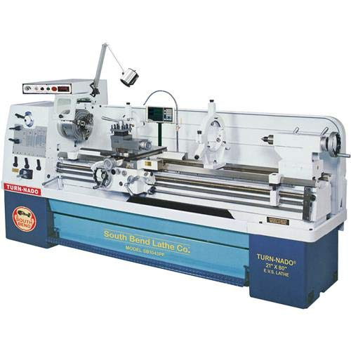Purchase South Bend SB1043PF EVS Lathe with DRO, 21-Inch by 80-Inch