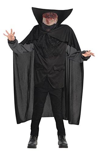 amscan – Kostüm Jungen ohne Kopf, 845709-55, 8 – 10 Jahre