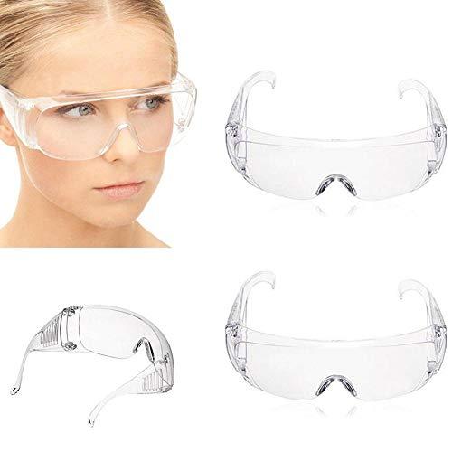 Schutzbrille Vollsichtbrille /Überbrille Schleifbrille f/ür Brillentr/äger UNIIR