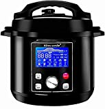 Simfonio Electric Pressure Cooker 8Qt - Simpot 10-in-1 Steamer Pot Rice Cooker Slow Cooker Egg...