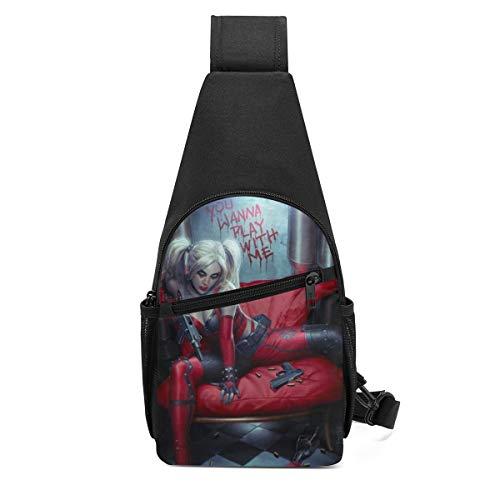 41oyGRLFYpL Harley Quinn Backpacks for School